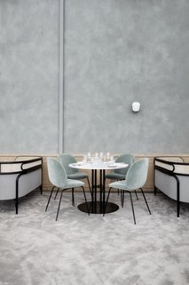 The Revived Maison du Danemark Brings Two New Danish Restaurants to Paris - Photo 6 of 9 - Also featured in Flora Danica is one of GamFratesi's newest launches for GUBI, the TS Dining Table.