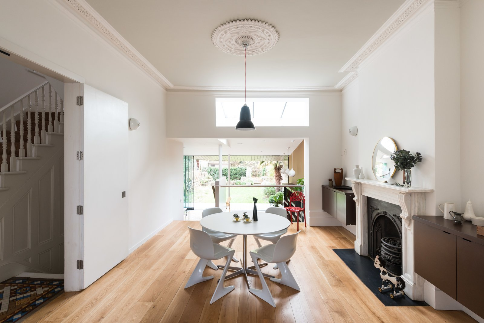 from A Fusion of Old and New Makes this Home For Sale Shine on London's Womersley Road