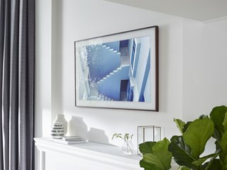 The Frame by Yves Behar for Samsung - Photo 3 of 4 - Fuseproject consulted art world experts in order to display the art properly on the screen. Rather than installing built-in matting, they added it digitally in high-definition.