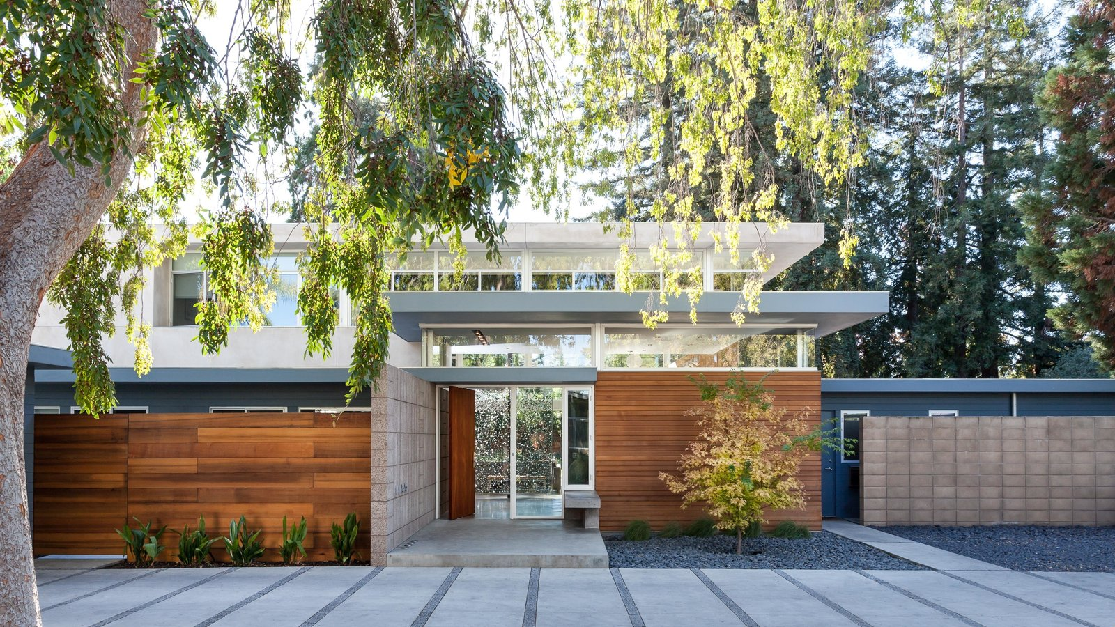 Photo 1 of 11 in A Year of Careful Study Leads to a Thoughtful Renovation of a 1949 Eichler