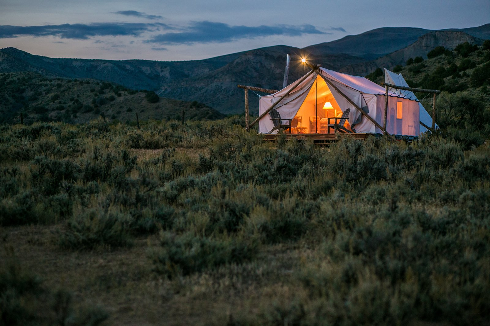 Photo 1 of 12 in Get the Modern Camping Experience You Crave at One of These New Secluded Retreats