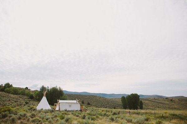 With each of the locations having 5 to 15 tents—with their own connected teepee bathrooms—each shelter is given just enough space between each other to make you feel like it's just you, your travel companion, and the nature that you're surrounded by.