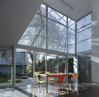 A Perforated Screen Brings Privacy and Natural Light to This Bold Venice Home - Photo 7 of 9 -