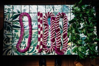 Waikiki's Midcentury Revival Continues to Flourish With a New Jet Set-Inspired Hotel - Photo 16 of 17 - OMFGCO created a custom tile to cover the tables on the Hideout lanai.