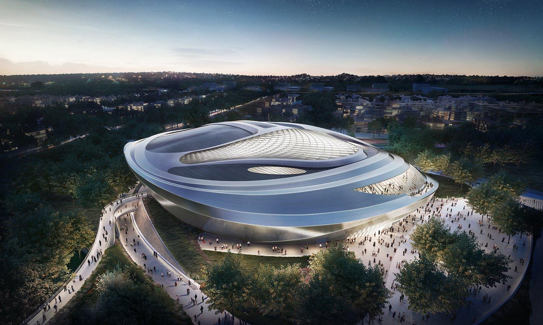 Astana Congress Center by Adrian Smith + Gordon Gill
