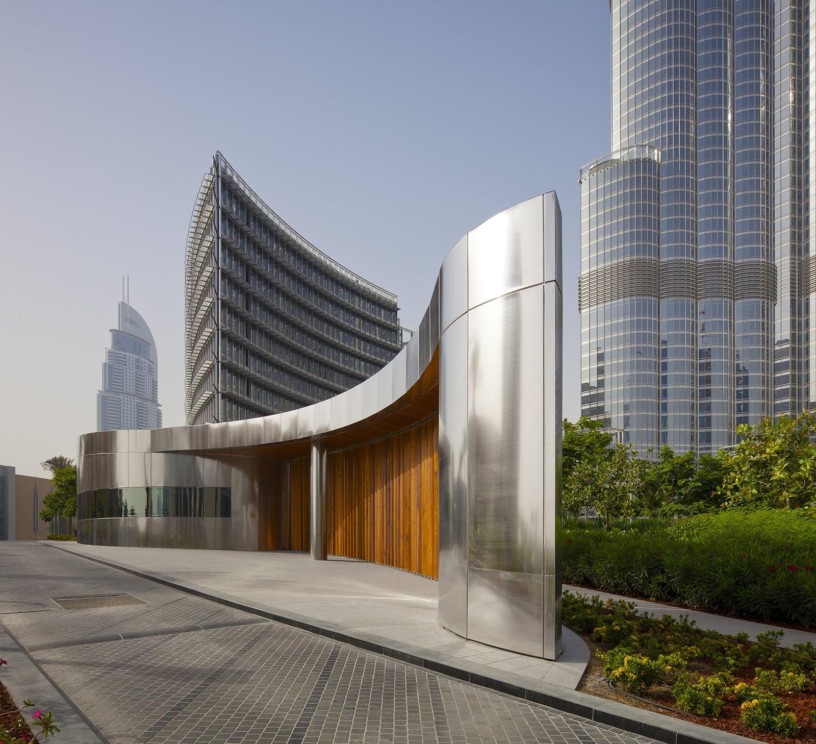Burj Khalifa Gatehouses by Adrian Smith + Gordon Gill