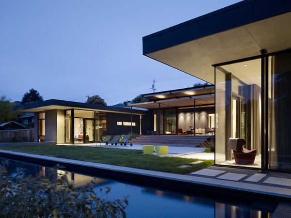 Photo 2 of Mill Valley Courtyard Residence modern home