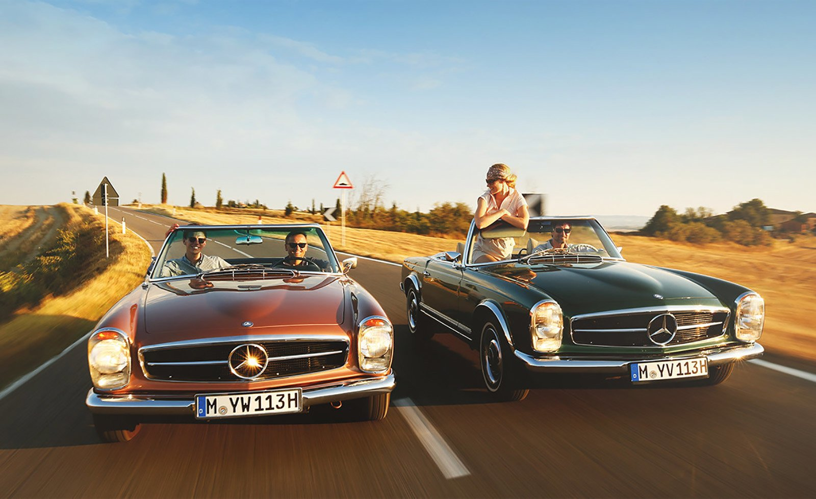 Photo 1 of 6 in Mercedes-Benz Classic Car Travel