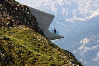 Influential Women in Architecture - Photo 4 of 4 -  Messner Mountain Museum by Zaha Hadid Architects
