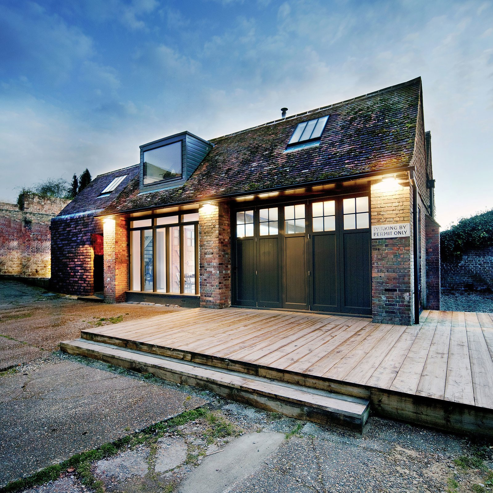 © Vojteck Ketz courtesy of Marta Nowicka & Co. Tagged: Exterior, Shingles Roof Material, Brick Siding Material, House, and Gable RoofLine.  Photo 1 of 19 in 10 Dwell-Approved, New-Old Homes in the UK from Rescue & Revival