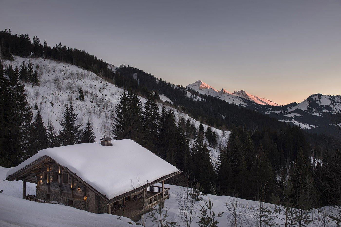 Sylvie Blanchet's chalet in the French Alps   Modern Winter Retreats by Aileen Kwun from Peak Season