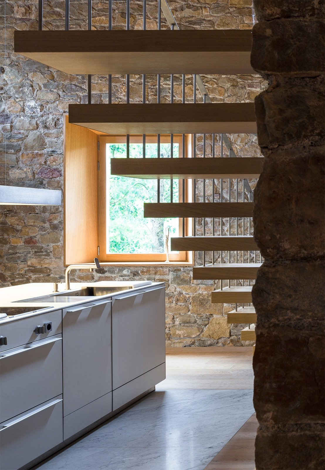 The Can Calau Farmhouse in Catalonia, Spain  Modern Rustic by Gessato