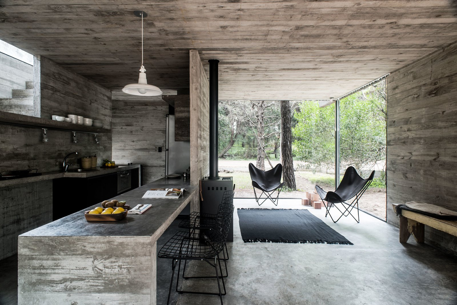 H3 House by Luciano Kruk  Brutal Beauty by Gessato