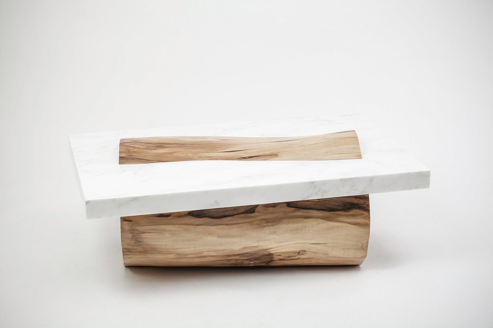 Sculptural Coffee Table By Marc Englander  Modern Rustic by Gessato