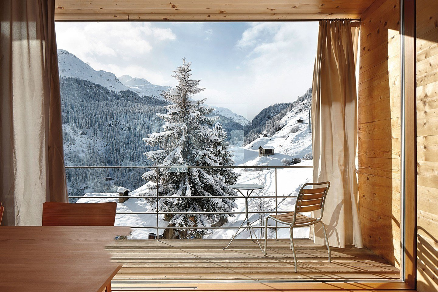 The Timber House by Peter Zumthor