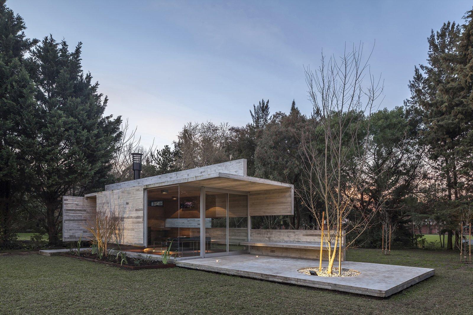 Torcuato House Pavilion  Brutal Beauty by Gessato