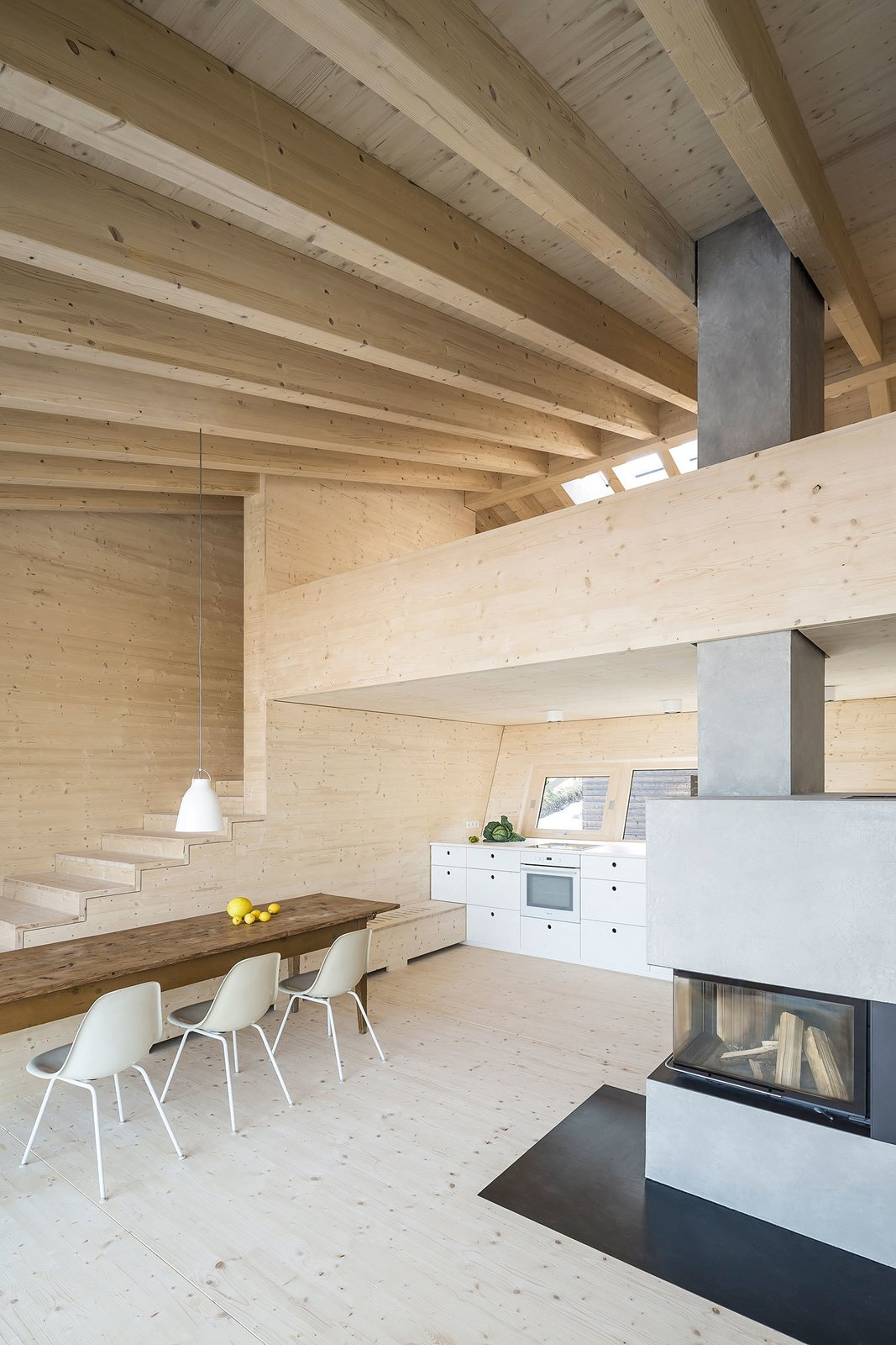 House P  Modern Rustic by Gessato