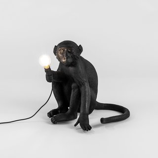 Seletti Monkey Lamps Bring a Slice of Wilderness to Your Outdoors - Photo 2 of 4 -