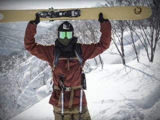 Best Freeriding Ski Gear For Winter 2016 - Photo 2 of 13 - Pescado by Eric Pollard