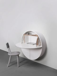 """The Pill Wall-Mounted Desk - Photo 3 of 3 - Add a caption</p></figcaption><h3><cite data-placeholder=""""true"""">Add credit</cite></h3></figure><p><br> </p><figure data-photo-id=""""6218921849671606272"""" data-layout=""""wide""""><img data-photo-id=""""6218921849671606272"""" src=""""https://s3-us-west-2.amazonaws.com/dwell-ugc/photos/6110512577102479360/6218921849671606272/large.jpg"""" style=""""min-height: 0px;""""><figcaption data-placeholder=""""true""""><p>Add a caption"""