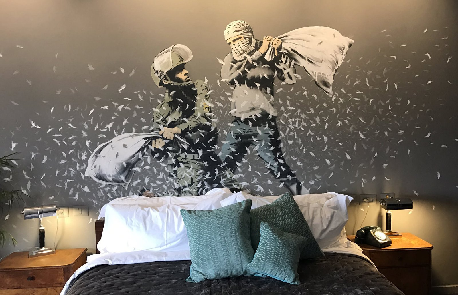 Photo 1 of 6 in Banksy's The Walled Off Hotel