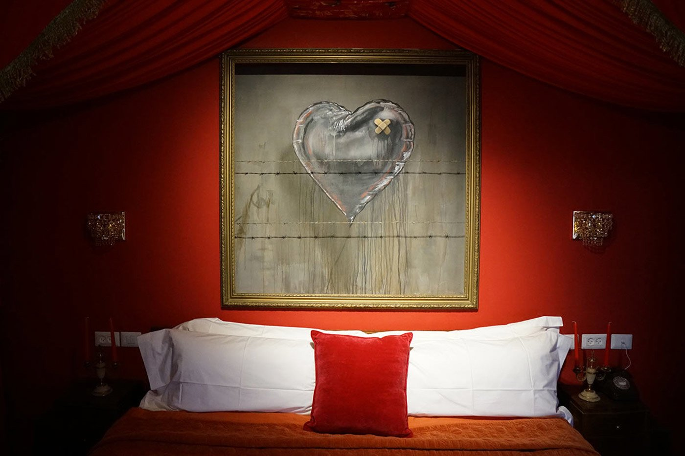 Banksy's The Walled Off Hotel - Photo 3 of 6