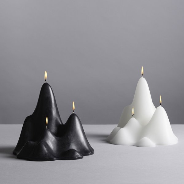 Aruliden Glasscape Icescape Candle