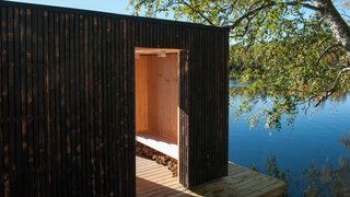 A Floating Sauna In Sweden - Photo 3 of 7 -