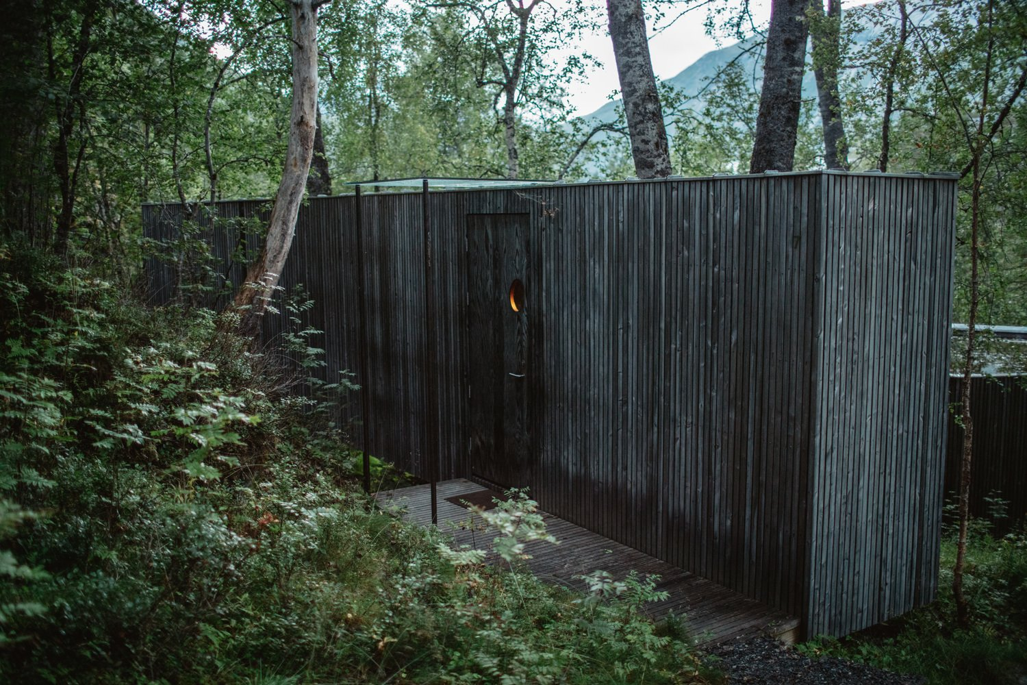 Cabins & Hideouts by Stephen Blake from Juvet (Ex-Machina) Landscape Hotel
