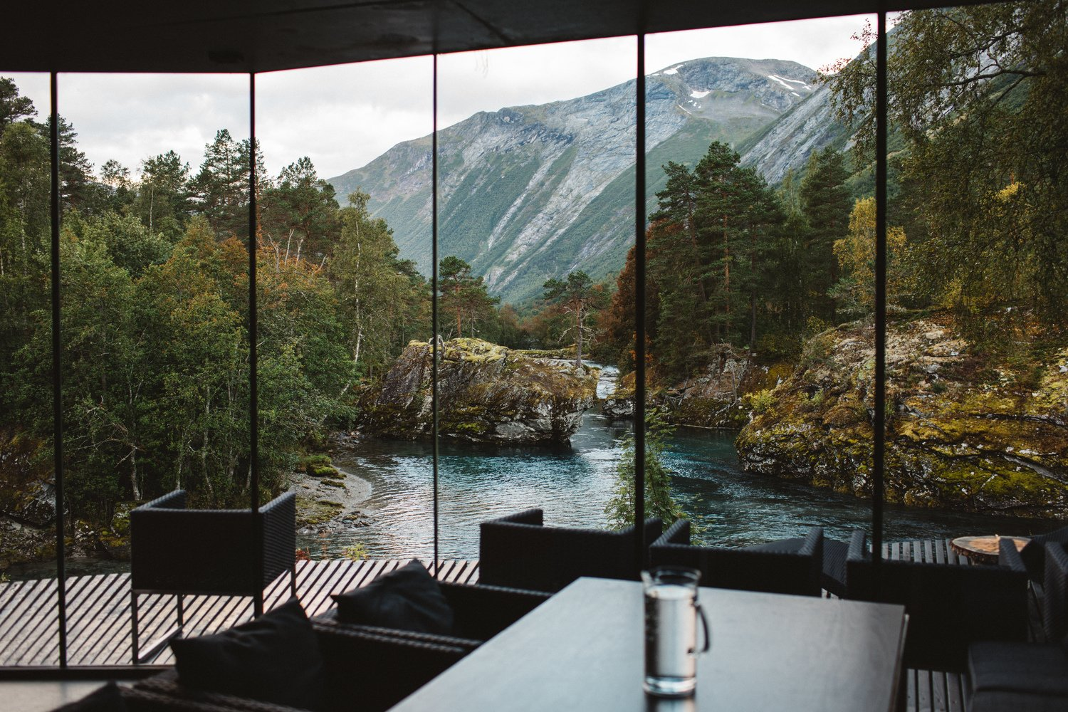 Views by DAVE MORIN from Juvet (Ex-Machina) Landscape Hotel