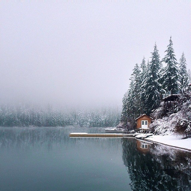 Modern Winter Retreats by Aileen Kwun from A Collection of Photographs