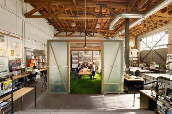#architectstudio #office #officespace #meetingroom #conferenceroom #exposedbeams  Photo  of Architect's Studio modern home