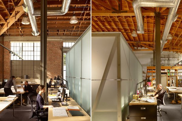 #architectstudio #office #officespace #meetingroom #conferenceroom #exposedbeams Photo 2 of Architect's Studio modern home