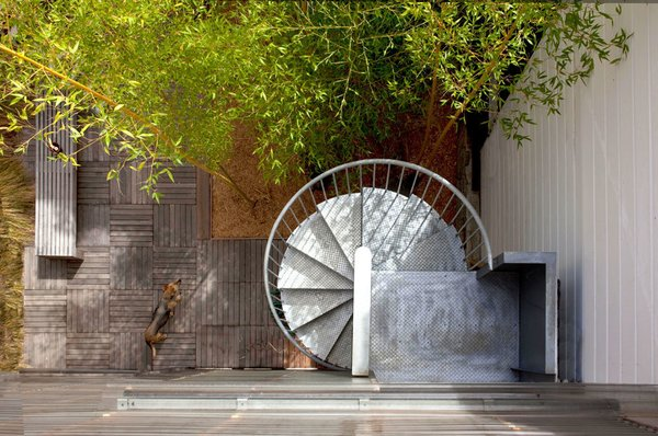 #mission #missiondistrict #sanfrancisco #spiralstaircase #backyard Photo 9 of Mission House modern home