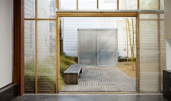 #mission #missiondistrict #sanfrancisco #glass #windows #indooroutdoor Photo 8 of Mission House modern home