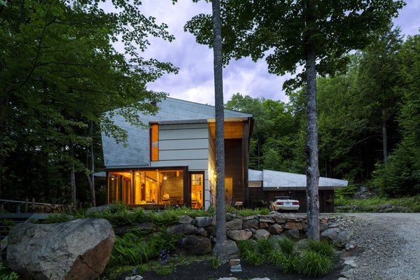 #exterior #siding  Photo 2 of Mountain House modern home
