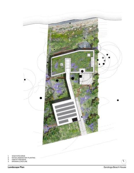 Landcape Plan  #landscape #landscapearchitecture #landscapeplan #intersticearchitects #interstice  Photo 17 of TreeHugger modern home