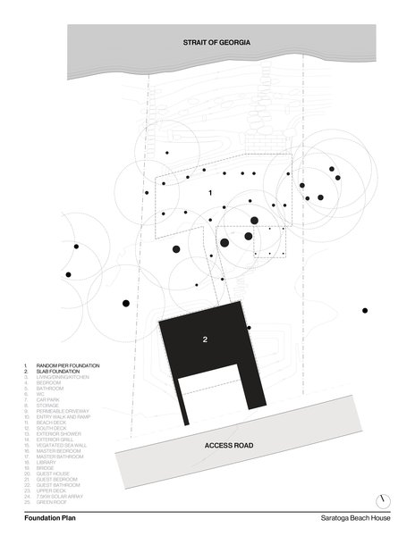 Foundation Plan   #intersticearchitects #plan #foundations #interstice Photo 16 of TreeHugger modern home