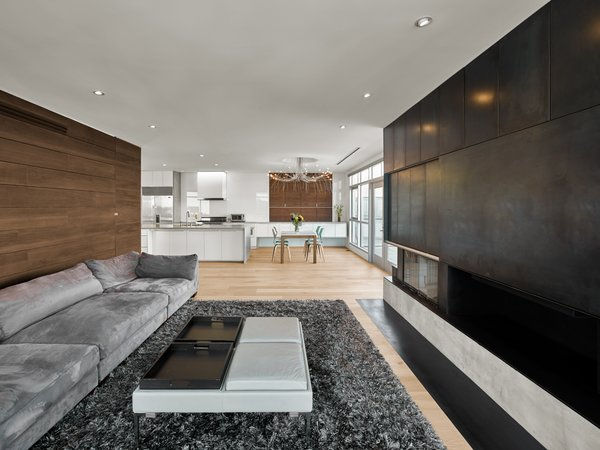 Modern home with living room. Photo  of SOMA:Penthouse