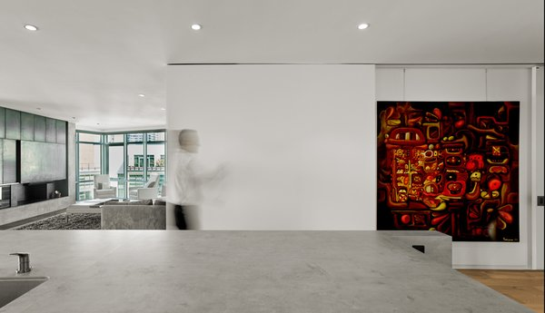 Modern home with living room. Photo 7 of SOMA:Penthouse