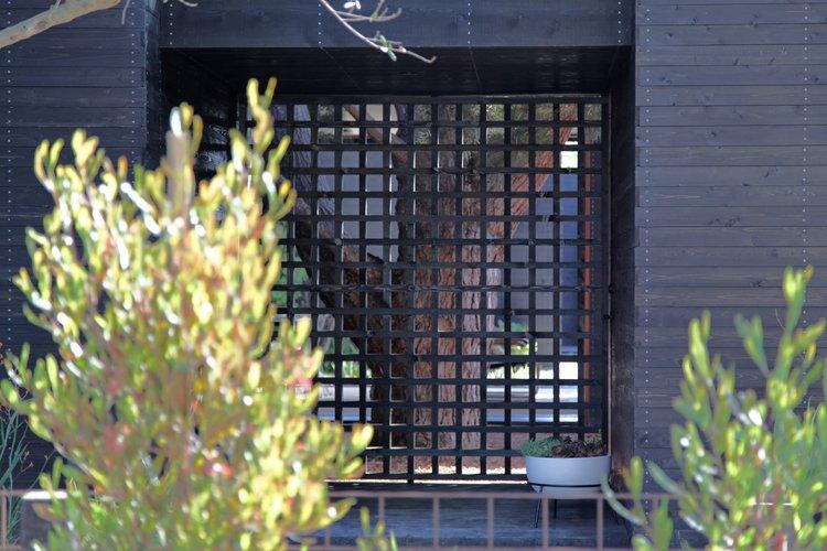 #Sebastian Mariscal #landscape #exterior #gate   Venice House by Sebastian Mariscal Studio