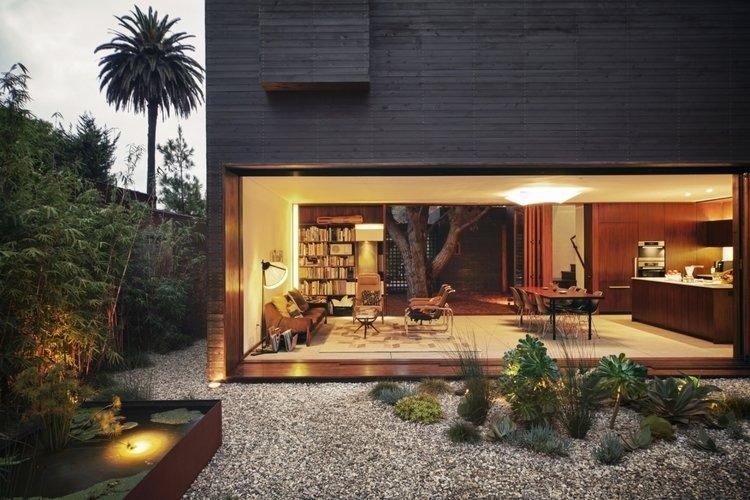 #Sebastian Mariscal #landscape #exterior #interior #livingroom   Venice House by Sebastian Mariscal Studio