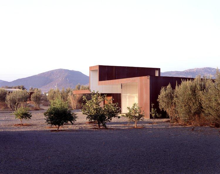 #SebastianMariscal #exterior #landscape #steel   Vinicola Esere by Sebastian Mariscal Studio