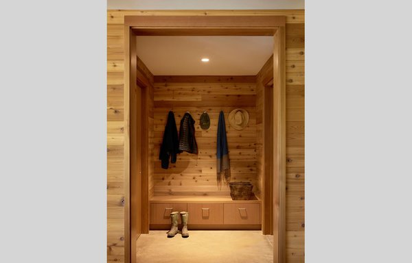 #TurnbullGriffinHaesloop #inside #interior #closet Photo  of Cloverdale Residence modern home