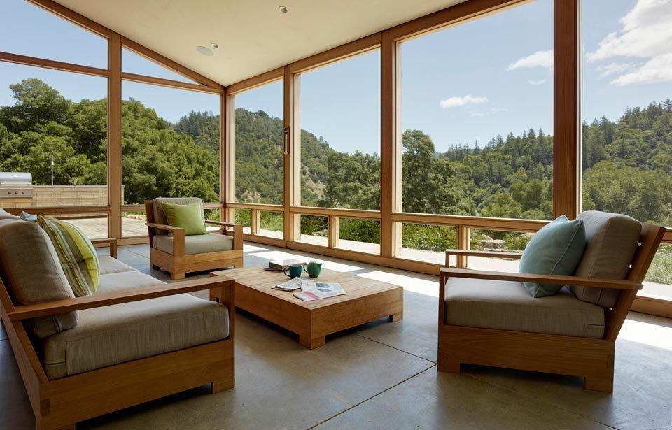 #TurnbullGriffinHaesloop #interior #inside #window #diningroom   Cloverdale Residence by Turnbull Griffin Haesloop Architects