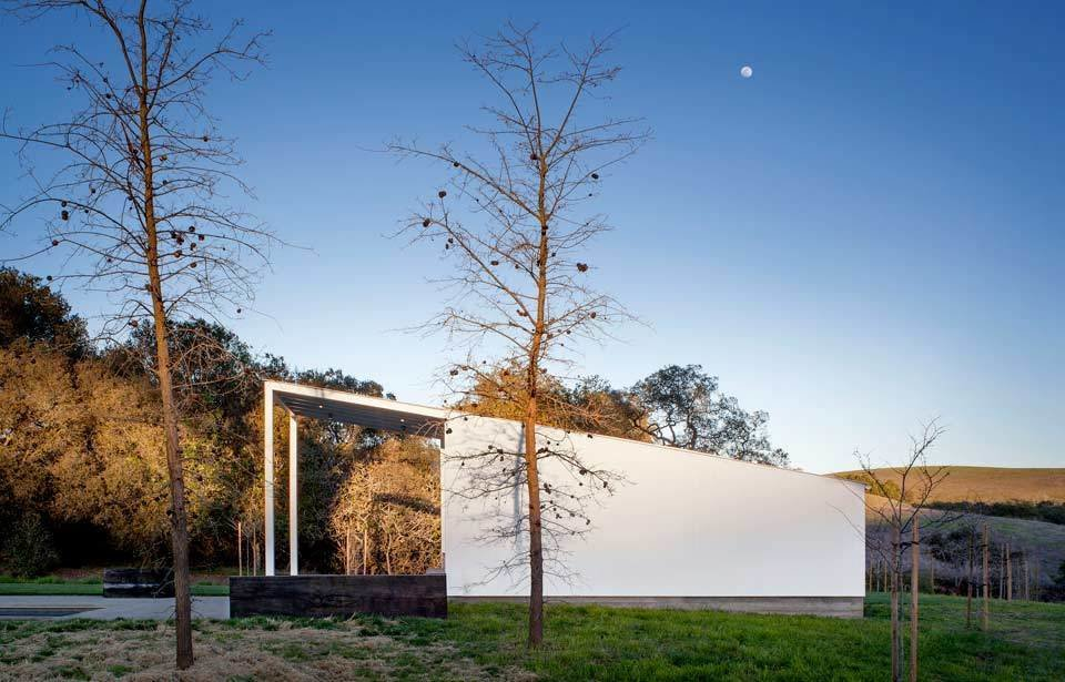 #TurnbullGriffinHaesloop #homestead #outdoor #outside #exterior #landscape  Hupomone Ranch by Turnbull Griffin Haesloop Architects