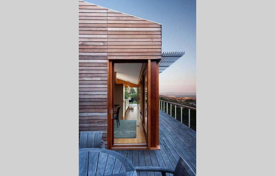 #TurnbullGriffinHaesloop #outdoor #outside #exterior #landscape #window  Kentfield Residence by Turnbull Griffin Haesloop Architects