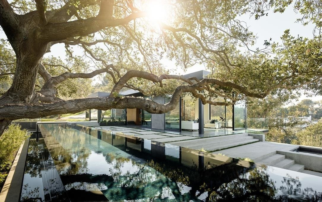 #WalkerWorkshop #exterior #outdoor #outside #landscape #pool #window