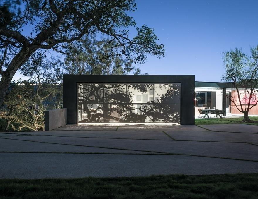 #WalkerWorkshop #exterior #outdoor #outside #landscape #concrete  Oak Pass Main House by Walker Workshop