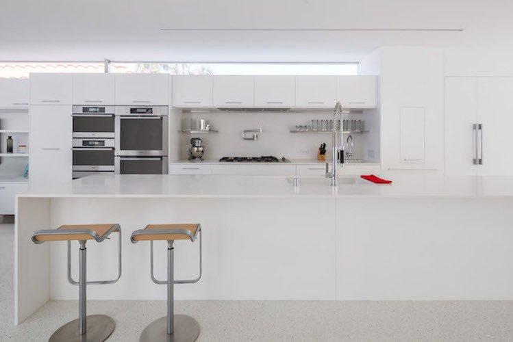#danbrunn #zigzag #residence #beachfront #venice #california #kitchen #interior  Zig Zag Residence by DBArchitecture